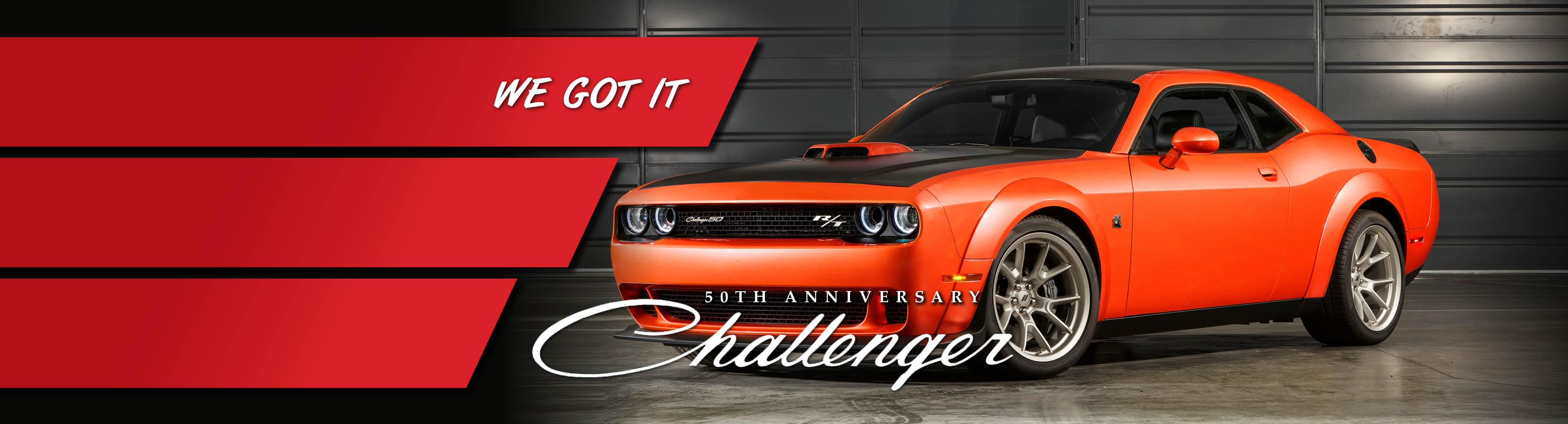 50th Anniversary Edition Challenger Ponoka Chrysler Jeep Dodge